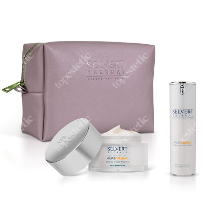 Selvert Thermal Vitamin Set ZESTAW Witaminowy krem odnawiający 50 ml + Witaminowe serum odnawiające 30 ml