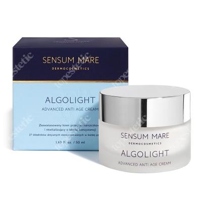 Sensum Mare Algolight Advanced Anti Age Cream Zaawansowany krem rewitalizujący i przeciwzmarszczkowy o lekkiej konsystencji 50 ml