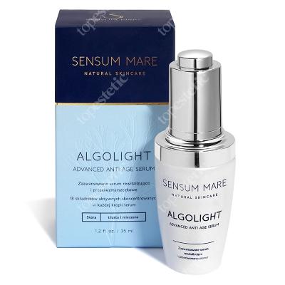 Sensum Mare AlgoLight Advanced Anti Age Serum Serum rewitalizujące i przeciwzmarszczkowe 35 ml