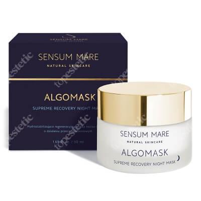 Sensum Mare Algomask Hydrostabilizująco regeneracyjna maska nocna 50 ml