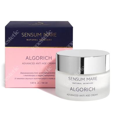 Sensum Mare Algorich Advanced Anti Age Cream Zaawansowany krem rewitalizujący i przeciwzmarszczkowy o bogatej konsystencji 50 ml