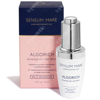 Sensum Mare AlgoRich Advanced Anti Age Serum Serum rewitalizujące i przeciwzmarszczkowe 35 ml