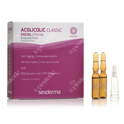 Sesderma Acglicolic Classic Ampułki o silnym działaniu przeciwstarzeniowym 5 x 2 ml
