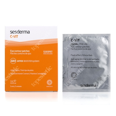 Sesderma C-VIT Eye Contour Patches Płatki pod oczy 5x4 ml