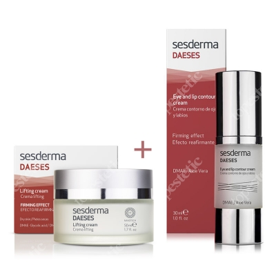 Sesderma Daeses Eye and Lip + Lifting Cream ZESTAW Krem liftingujący 50 ml + Krem kontur oczu i ust 30 ml