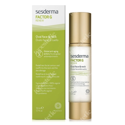 Sesderma Oval Face & Neck - Factor G Krem na dekolt i szyję 50 ml