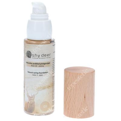 Shy Deer Natural Caring Foundation Dark Naturalny podkład pielegnujący (kolor 03) 30 ml
