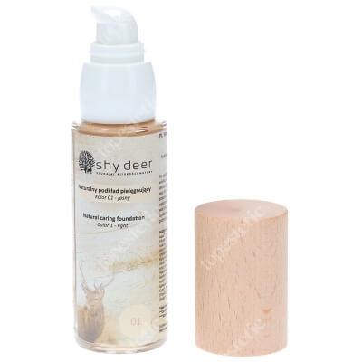 Shy Deer Natural Caring Foundation Light Naturalny podkład pielegnujący (kolor 01) 30 ml