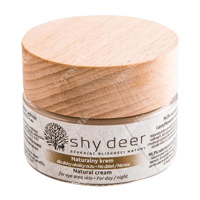 Shy Deer Natural Cream For Eye Area Skin Naturalny krem dla skóry okolicy oczu 30 ml