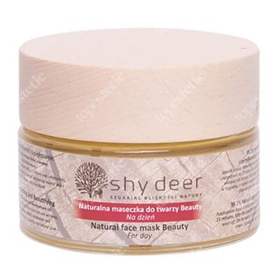 Shy Deer Natural Face Mask Beauty Naturalna maseczka do twarzy na dzień 50 ml