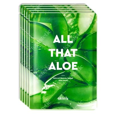 Skin79 All That Aloe Mask Aloesowa maska w płacie 5x25 g