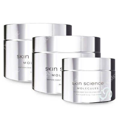 Skin Science Antioxidant Set ZESTAW Antyoksydacyjny, odmładzający krem na dzień 50 ml + Krem pod oczy 30 ml + Antyoksydacyjny, odmładzający krem na noc 50 ml
