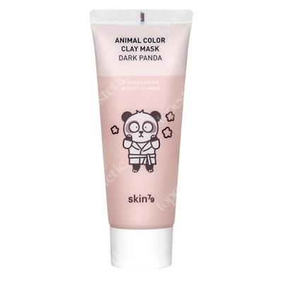 Skin79 Animal Color Clay Mask Dark Panda Rozjaśniająca maseczka w kremie 70 g