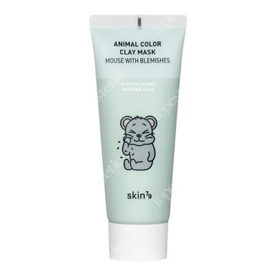 Skin79 Animal Color Clay Mask Mouse With Blemishes Oczyszczająca maseczka w kremie 70 g