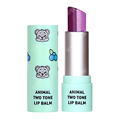 Skin79 Animal Two-Tone Lip Balm Blueberry Mouse Balsam do ust w sztyfcie 3,8 g