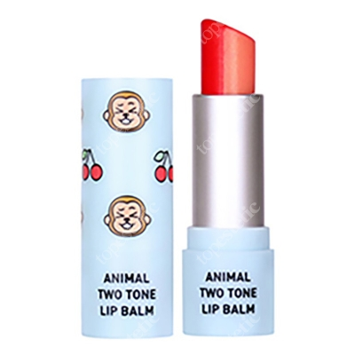 Skin79 Animal Two-Tone Lip Balm Cherry Monkey Balsam do ust w sztyfcie 3,8 g