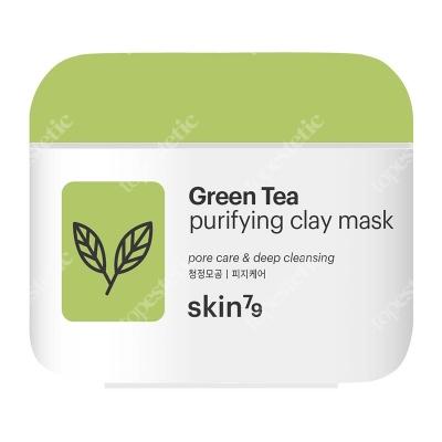 Skin79 Green Tea Purifying Clay Mask Peelingująca maska oczyszczająca 100 ml