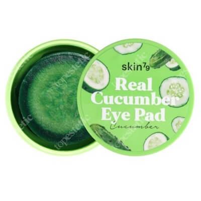 Skin79 Real Cucumber Eye Pad Ogórkowe płatki nawilżająco-kojące na oczy 30 szt