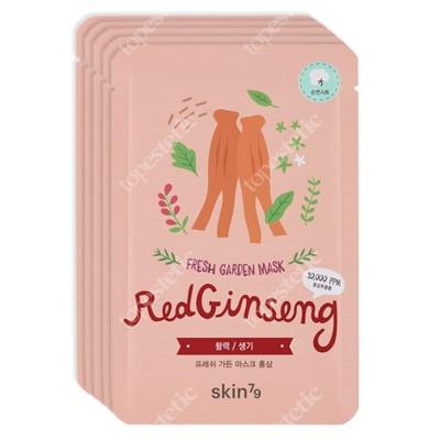 Skin79 Red Ginseng Fresh Garden Mask Maska w płacie 5x23 g