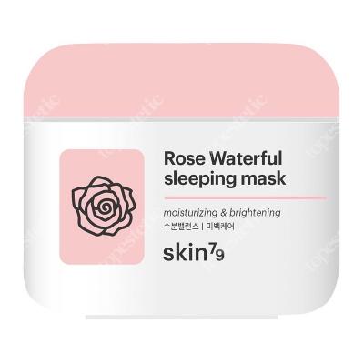 Skin79 Rose Waterful Sleeping Mask Różana maseczka nawilżająco-wygładzająca 100 ml