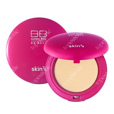 Skin79 Super+ Pink BB Pact SPF 30 PA ++ Matujący puder w kompakcie SPF30 PA++ 15 g