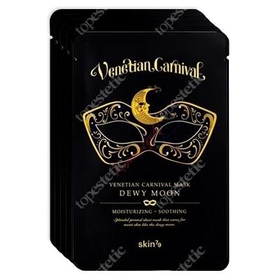 Skin79 Venetian Carnival Mask Dewy Moon Maska nawilżająco-kojąca 5x23 g