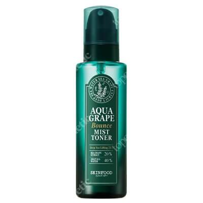 Skinfood Aqua Grape Bounce Mist Toner Tonik do twarzy 155 ml