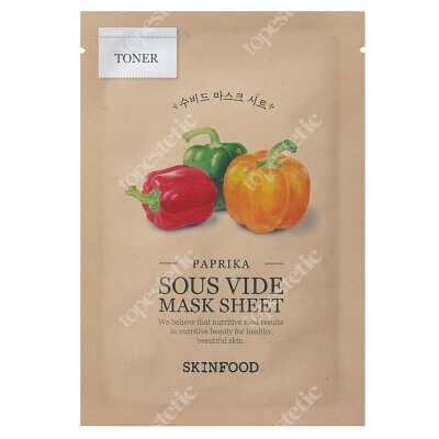 Skinfood Paprika Sous Vide Mask Sheet Maseczka w płachcie - papryka 20 g
