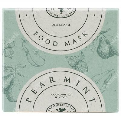 Skinfood Pear Mint Food Mask Wash-Off Maska do twarzy 120 g