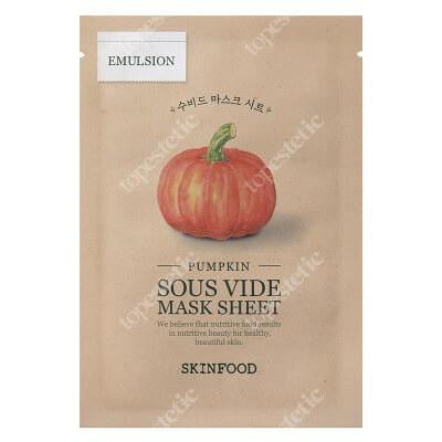 Skinfood Pumpkin Sous Vide Mask Sheet Maseczka w płachcie - dynia 20 g