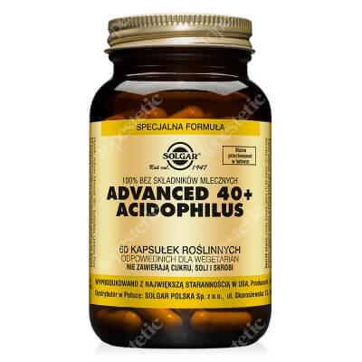 Solgar Advanced 40+ Acidophilus Jelitowa flora bakteryjna 60 kapsułek