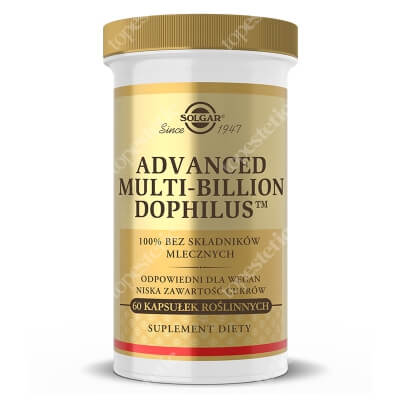 Solgar Advanced Multi-Billion Dophilus Jelitowa flora bakteryjna 60 kapsułek