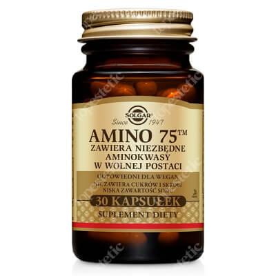 Solgar Amino 75 Kompletny zestaw aminokwasów egzogennych 30 kaps.