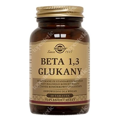 Solgar Beta 1,3 Glukany 60 tabletek