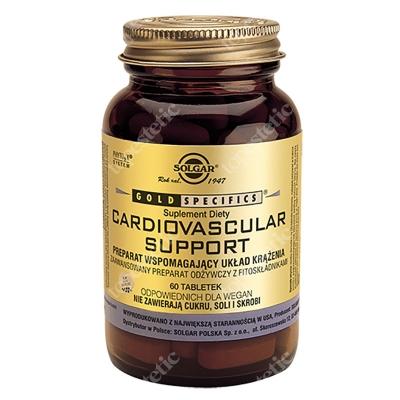 Solgar Cardiovascular Support Odżywianie układu sercowo-naczyniowego 60 tabletek