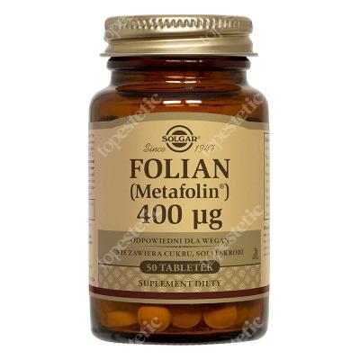 Solgar Folian (Metafolin®) 400 µg 50 tabletek