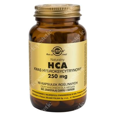 Solgar HCA Naturalny Kwas Hydroksycytrynowy 60 kapsułek