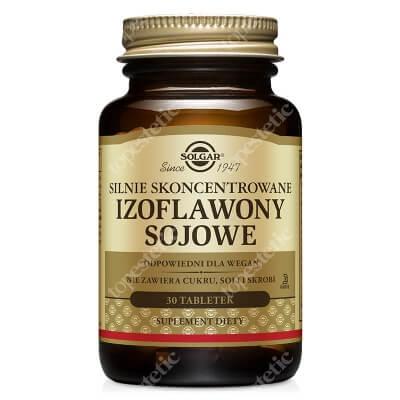 Solgar Izoflawony Sojowe Silnie Skoncentrowane 30 tabletek