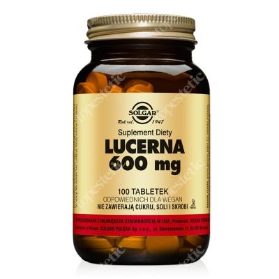 Solgar Lucerna 600 mg 100 tabletek