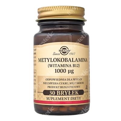 Solgar Metylokobalamina Witamina (b12) 1000ug 30 bryłek