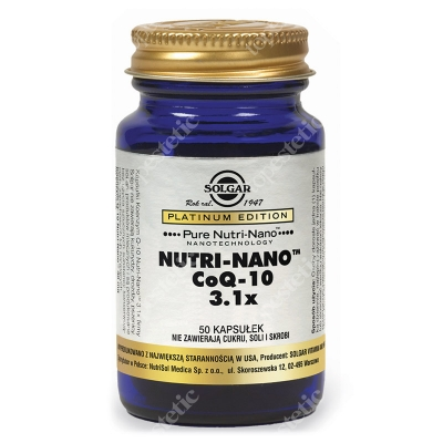 Solgar Nutri-Nano CoQ-10 50 kapsułek