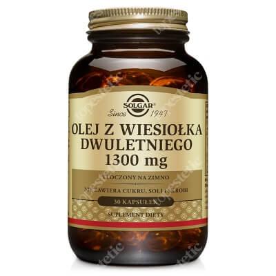 Solgar Olej z wiesiołka dwuletniego 1300 mg tłoczony na zimno 30 kapsułek