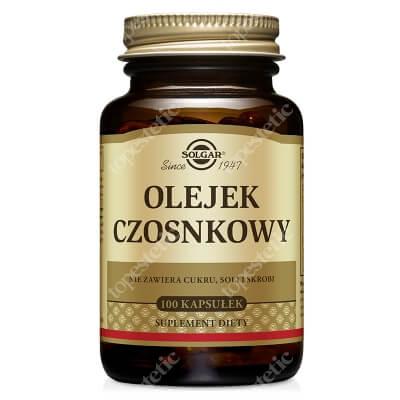 Solgar Olejek Czosnkowy 1 mg Świeży 100 kapsułek