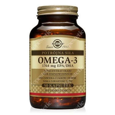 Solgar Omega 3 Potrójna Siła 1764 mg 50 kapsułek