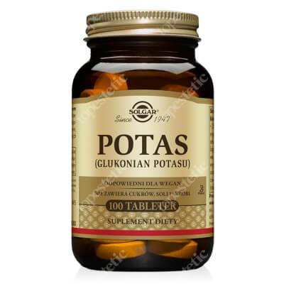 Solgar Potas 100 tabletek