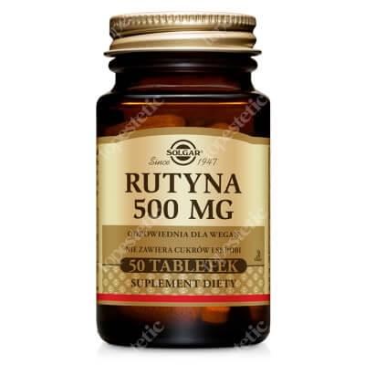 Solgar Rutyna 500 mg 50 tabletek