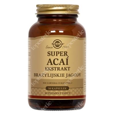 Solgar Super Acai Ekstrakt z brazylijskiej jagody 50 kapsułek