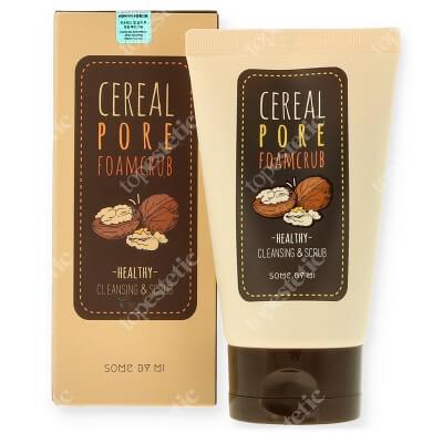 Some By Mi Cereal Pore Foam Scrub Naturalny peeling z otrębami ryżowymi 100 ml