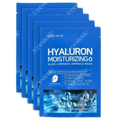 Some By Mi Hyaluron Moisturizing Glow Mask Maska na płachcie silnie nawilżająca 5 szt.