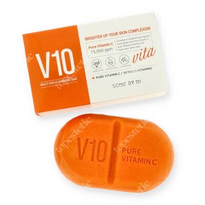 Some By Mi Pure Vitamin C Cleansing Bar Wybielające i rozjaśniające mydło z witaminami 106 g